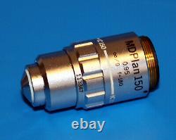 Olympus Mdplan 150 180mm /0 F=180 Microscope Lens Objectif Ic150