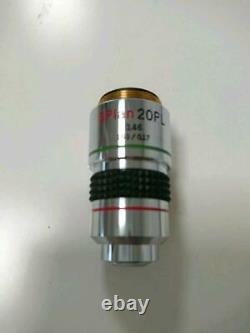 Olympus Microscope Objectif Objectif Objectif Splan 8 Pièces Set