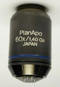 Olympus Microscope Planapo 60x/1.40 Objectif D'immersion D'huile, Excellent Objectif