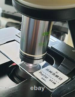 Olympus Plan 100x/1.25 Oil Ph3 /- Microscope Objectif Objectif