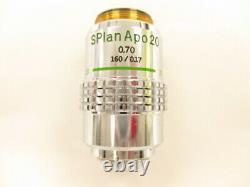 Olympus Splan S Plan Apo Apochromat 20x 0,7 160/0,17 Objectif Du Microscope