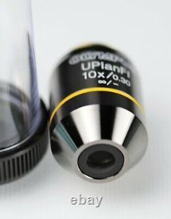 Olympus Uplanfl 10x/0.30, / Objectif Du Microscope / Objectif