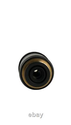 Olympus Uplansapo 100x / 1.40 Huile Uis2 Microscope Objectif Lentille Pour Bx CX IX