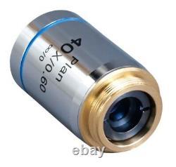 Omax 40x/0.60 Infinity Corrigé Plan Objectif Microscope Achromatique Objectif