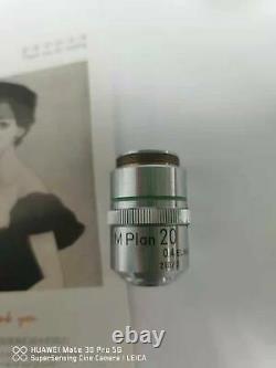 Photo Réelle Nikon M Plan 20x /0.4 Objectif Objectif De Microscope Elwd #free Shipping