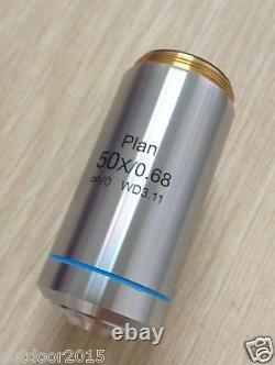 Plan D'infinité Du Microscope Métallurgique Objectif Achromatique Pour Nikon M25
