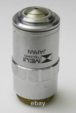 Plan Meiji F 100x 1,25 /0,17 F=200 Microscope Objectif Lens Rms