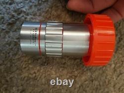 Rare Mitutoyo M Plan Apo 5 X 0.14 Objectif Microscope Avec Boîtier Pn 378-802-2
