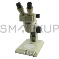 Tête De Microscope Stéréo Nikon Smz-1 Utilisée Avec Oculaire Et Objectif Sans Base