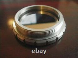 Utilisé Bausch & Lomb (leica) Microscope Auxiliaire Objectif Lentille Filtre Mirreur