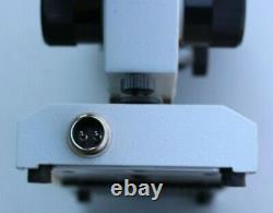 Vintage Lomo Russe Microscope Avec 4 Objectifs De Lens Eab-40-1 Eab-4-1 A Plan 10