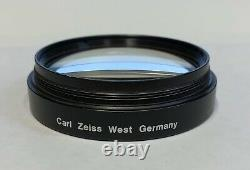 Zeiss 300m T Opmi Objectif Microscope Chirurgical Objectif Lentille 60mm Thread