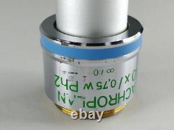 Zeiss Achroplan 40 X 0,75 W Ph2 Water Infinity 440091 Objectif Objectif Microscope
