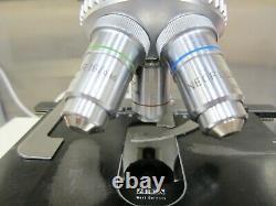 Zeiss Fluorescence Microscope Power Supply 5 Objectif Lentille Neofluar Darkfield