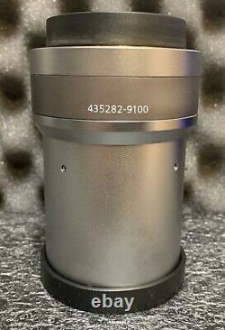 Zeiss Plan Z 1.0x/0.25 Fwd Objectif 60mm Objectif Pour Axio Zoom Microscope Nouveau