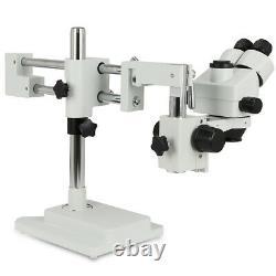 Zoom 3.5x-90x Microscope Trinoculaire Stéréo-simulofocal Objectif Barlow Lens